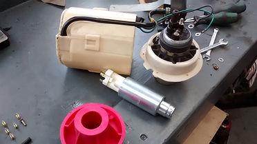 new lancia delta fuel pump