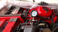 lancia delta fuel pressure test