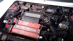 Integrale engine ready to be removed