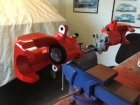 VW Golf caliper repaint