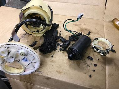 Fiat Panda fuel pump problem