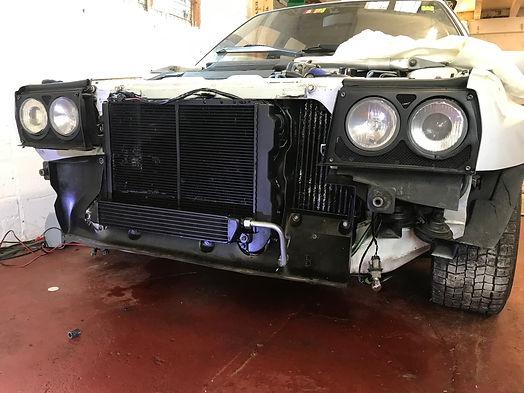 Lancia Delta Evo1 radiator