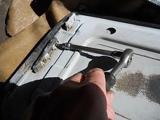 Lancia Delta sunroof repair