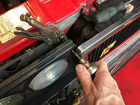 removing integrale headlight