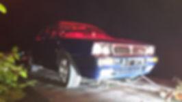 lancia delta on rescue truck