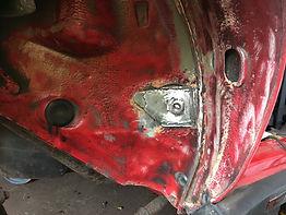 lancia delta repaired