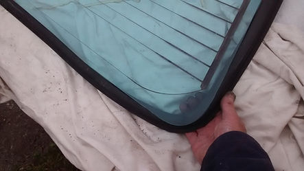 fitting delta screen rubber