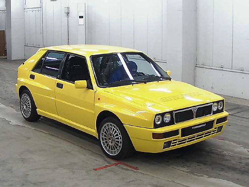 japanese yellow Delta at auction