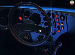 Lancia Trevi dashboard