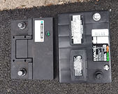Lancia Delta battery top