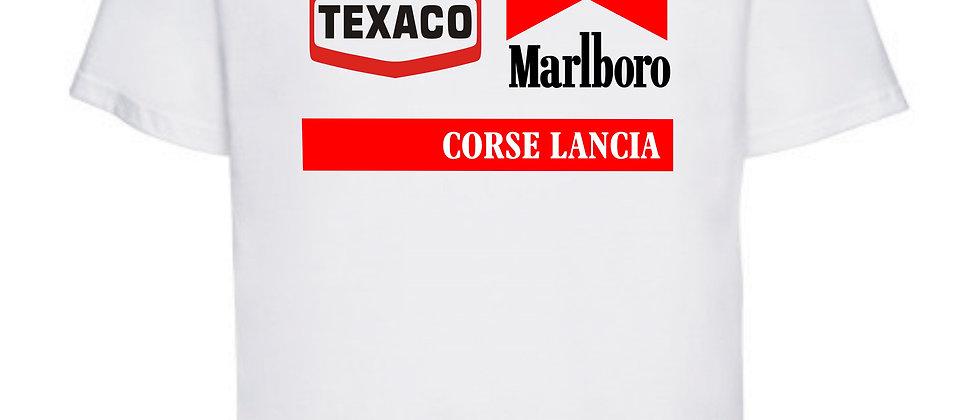 Texaco Marlboro Lancia Racing T shirt