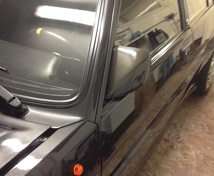 Lancia Delta WRC carbon fibre mirror