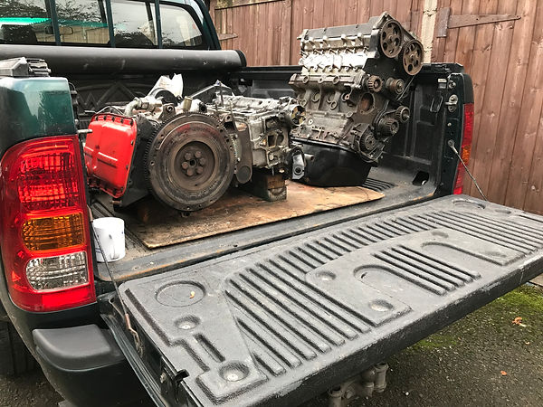 Toyota Hilux with delta engine