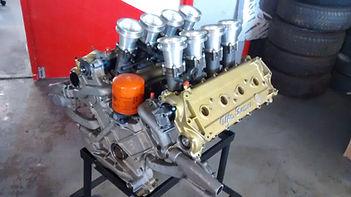 Alfa Romeo 2.6 litre V8 engine