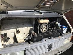 Renault Master engine bay