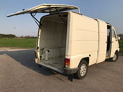 renault master T35 tailgate