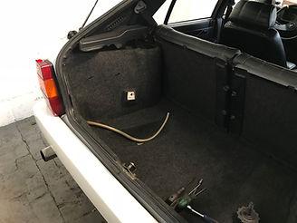 Lancia Delta trunk
