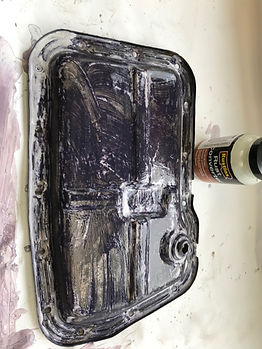 lancia delta sump rust treatment
