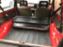 fiat panda rear seat fold down