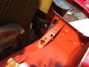 Delta front end repair