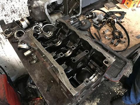 lancia delta engine rebuild