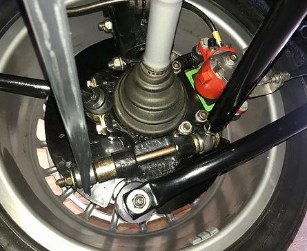 Beautiful rear hub