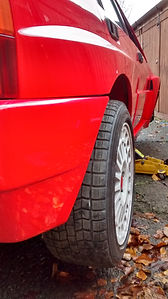 Lancia Delta wheelspacers
