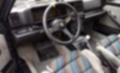 lancia delta 8v interior