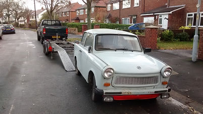 trabant delivered