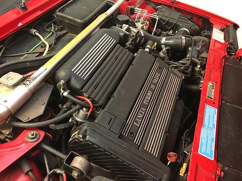 Lancia Delta repainted inlet