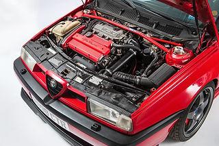 Alfa Romeo 155 Lancia engine