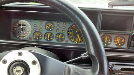 integrale dash with no warning lights