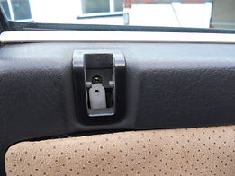 Lancia delta door locking tab