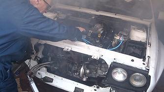 Intgrale engine start up