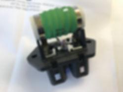 Integrale coolant resistor