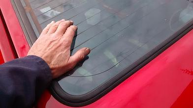 delta rear window install