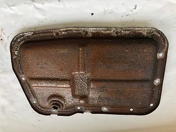 lancia delta rusty sump