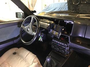 Lancia Delta dashboard