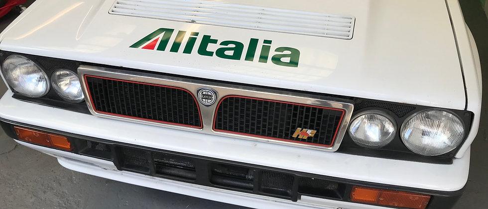 4 x ALITALIA logos, vinyl lettering decals
