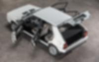 Zagato Lancia interior