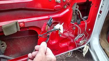 removing wiring from delta door