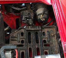 Lancia Delta battery tray