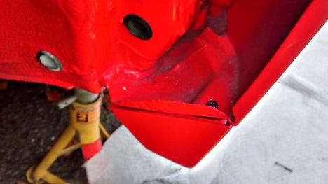 fixing delta sill