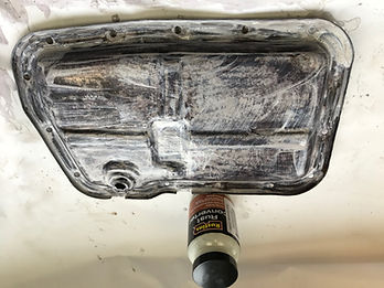 lancia delta sump rust treatment 2