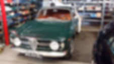 dino's garage Alfa Romeo