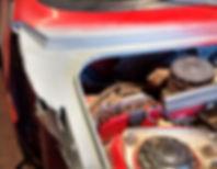 Lancia Delta wing repair