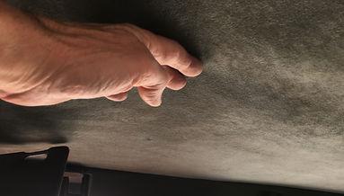 Lancia Delta sagging roof lining