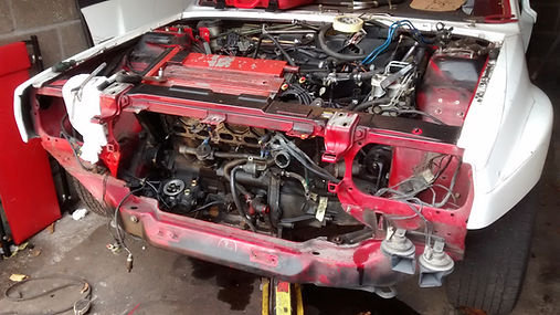 DElta Integrale engine ready to remove