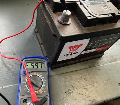 testing Delta battery