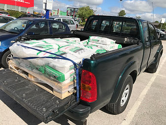 Hilux loaded
